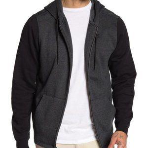 NWT Hurley Branstad Blocked Full Zip Hooded Jacket